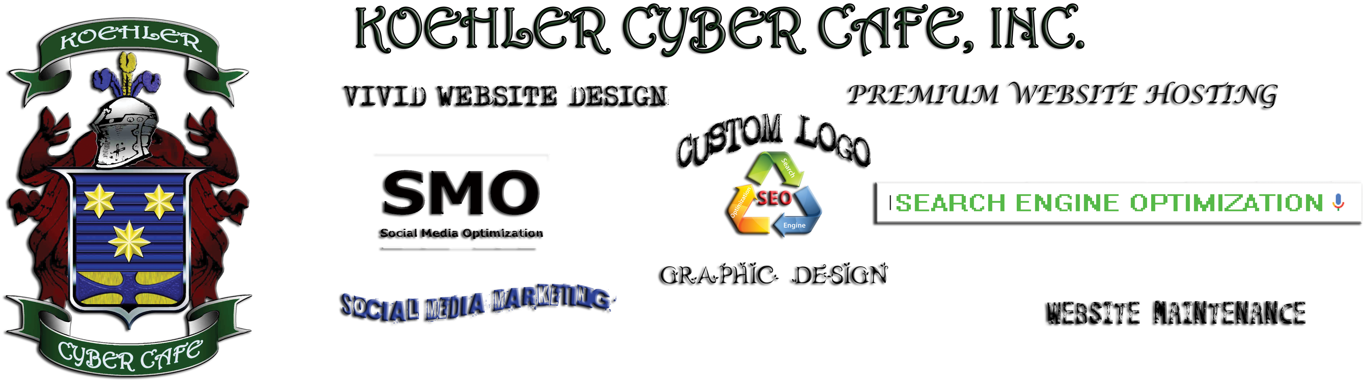 Koehler Cyber Cafe | Gardendale Alabama | Website Hosting | Website Design